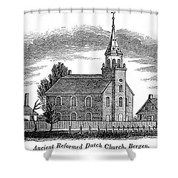 New Jersey: Church, 1844 Shower Curtain by Granger