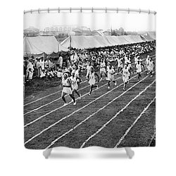 Olympic Games, 1912 Shower Curtain by Granger
