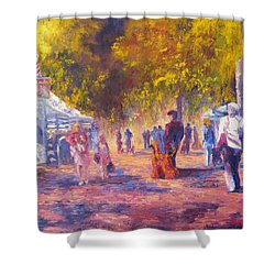 Promenade Shower Curtain by Terry  Chacon