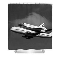 Shuttle Endeavour Shower Curtain by Jason Smith