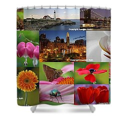 2012 Photography Artwork Highlights Shower Curtain by Juergen Roth