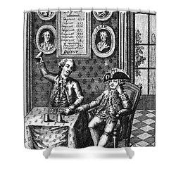 Louis Xvi (1754-1793) Shower Curtain by Granger