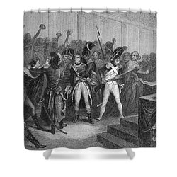 Napoleon I (1769-1821) Shower Curtain by Granger