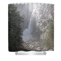 Yosemite Shower Curtain by Carol Ailles