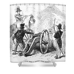 Battle Of Buena Vista Shower Curtain by Granger