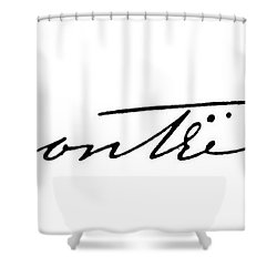 Charlotte BrontË Shower Curtain by Granger
