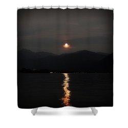 Full Moon Shower Curtain by Joana Kruse