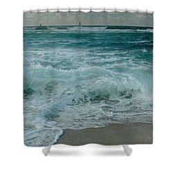 Hookipa Shower Curtain by Sharon Mau