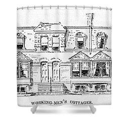 Pullman, Chicago Shower Curtain by Granger