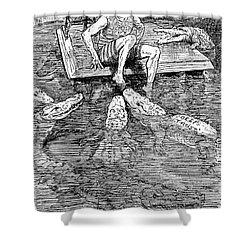 Roosevelt Cartoon, 1906 Shower Curtain by Granger