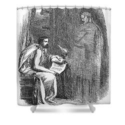 Shakespeare: Julius Caesar Shower Curtain by Granger