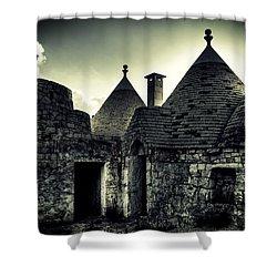 Trulli Shower Curtain by Joana Kruse