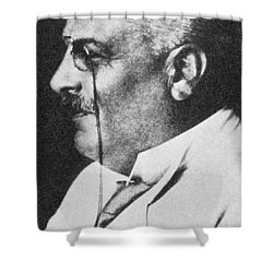Alois Alzheimer, German Neuropathologist Shower Curtain by Science Source