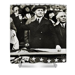 Calvin Coolidge (1872-1933) Shower Curtain by Granger