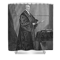 John Jay (1745-1829) Shower Curtain by Granger
