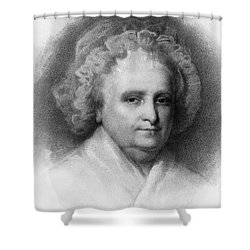 Martha Washington, American Patriot Shower Curtain by Photo Researchers