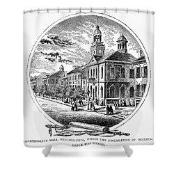 Philadelphia State House Shower Curtain by Granger