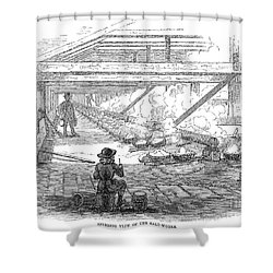 Slave Labor, 1857 Shower Curtain by Granger