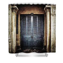 44 Shower Curtain by Skip Nall