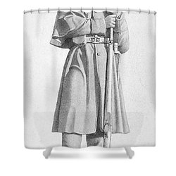 Civil War: Soldier Shower Curtain by Granger