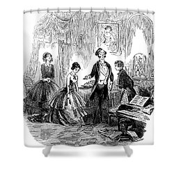 Dickens: David Copperfield Shower Curtain by Granger