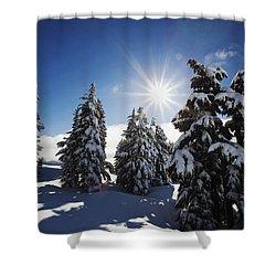 Oregon Cascades, Oregon, United States Shower Curtain by Craig Tuttle