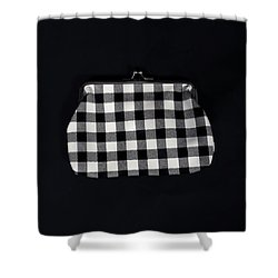 Black And White Shower Curtain by Joana Kruse