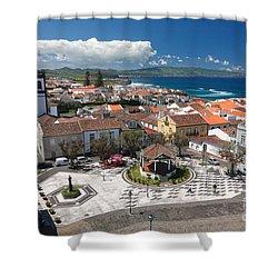 Ribeira Grande - Azores Shower Curtain by Gaspar Avila