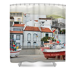 Vila Franca Do Campo Shower Curtain by Gaspar Avila