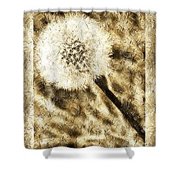 A Dandy Glow Shower Curtain by Andee Design