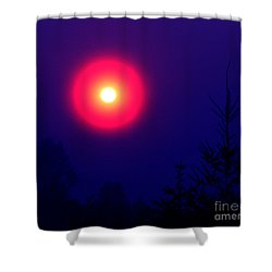 A New World Shower Curtain by Rory Sagner