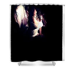 A Taste Of Film Noir Fetish Shower Curtain by Lon Casler Bixby