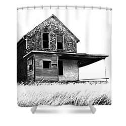 Abandoned And Alone 2 Shower Curtain by Bob Christopher