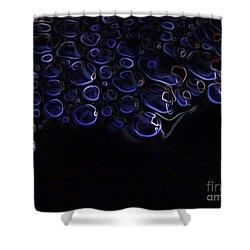 Abstract Art Series. Blue Fantasy. Shower Curtain by Ausra Huntington nee Paulauskaite