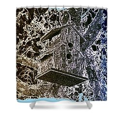 Abstract Fusion 160 Shower Curtain by Will Borden