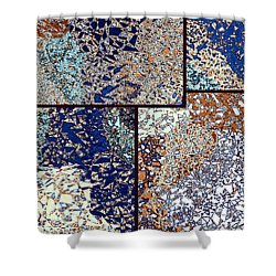 Abstract Fusion 95 Shower Curtain by Will Borden