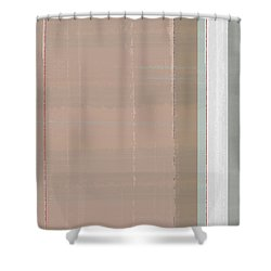 Abstract Light 1 Shower Curtain by Naxart Studio