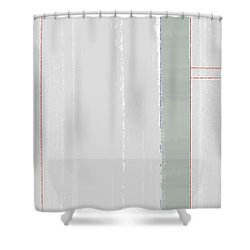 Abstract Light 2 Shower Curtain by Naxart Studio