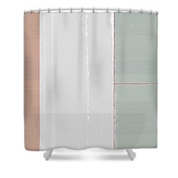 Abstract Light 3 Shower Curtain by Naxart Studio