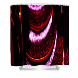 Abstract Magentas Shower Curtain by Christopher Holmes