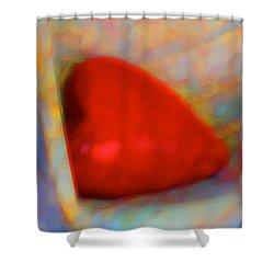 Shower Curtain featuring the digital art Abundant Love by Richard Laeton