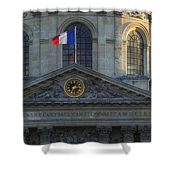 Academie Francaise Shower Curtain by Brian Jannsen