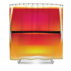 After Rothko Shower Curtain by Gary Grayson
