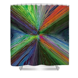 After The Rain 8 Shower Curtain by Tim Allen