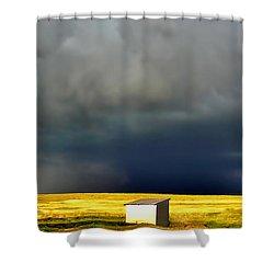 Afternoon Storm Shower Curtain by Ellen Heaverlo