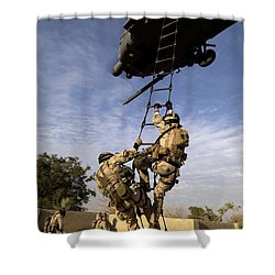 Air Force Pararescuemen Are Extracted Shower Curtain by Stocktrek Images