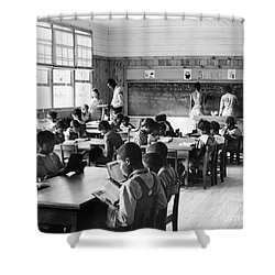Alabama: Schoolhouse, 1939 Shower Curtain by Granger