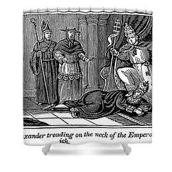 Alexander IIi (d. 1181) Shower Curtain by Granger