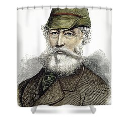 Alfred Krupp (1812-1887) Shower Curtain by Granger