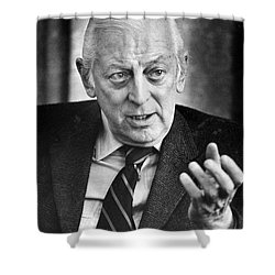 Alistair Cooke (1908-2004) Shower Curtain by Granger